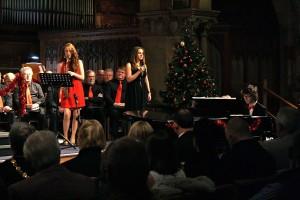 """Rockin' around the Christmas Tree"""" with Lowri Thom, Amy Harvey and Joseph Cavalli-Price"""
