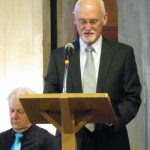 Gerald Roderick reads 'For the Fallen' - during Somme Centenary Commemoration - 1.7.16