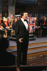 Joshua Mills (Tenor) at the Diamond Jubilee Celebration Concert – 1.6.12
