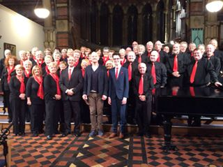 The Choir with One Show interviewer, Iwan Thomas